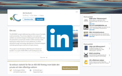 Follow BIOMIMIC on LinkedIn