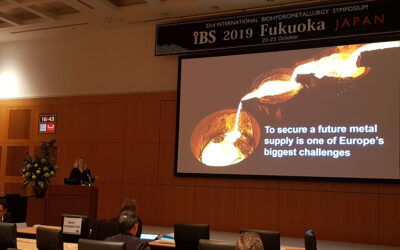 Praise for presentation at IBS in Japan